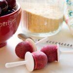 Cherry Pie Ice Pops