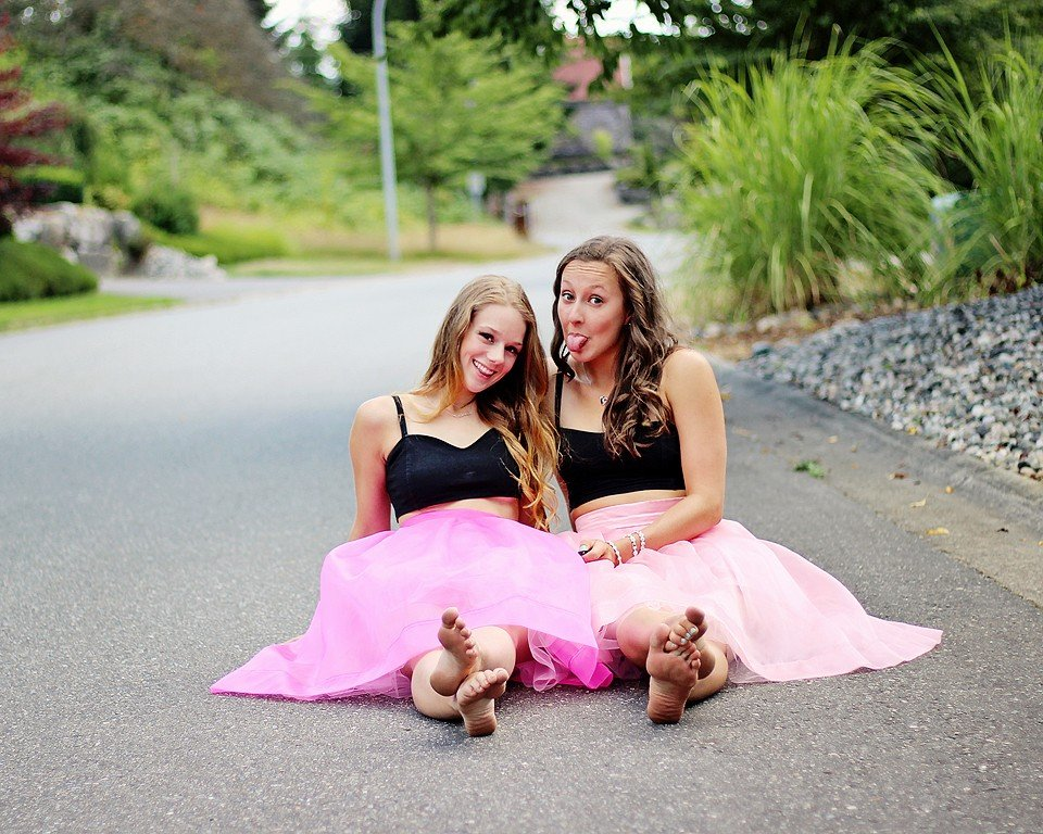 Two in Tulle
