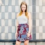 Summer Paisley Skirt