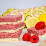 Raspberry Lemonade Squares
