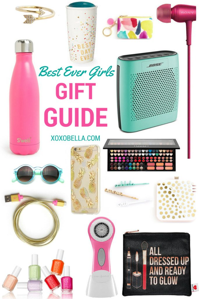 Lifestyle blogger Bella Bucchiotti of xoxoBella shares the best ever gift guide for all the teens on your shopping list this Christmas.