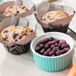 Carrot Blueberry Muffins