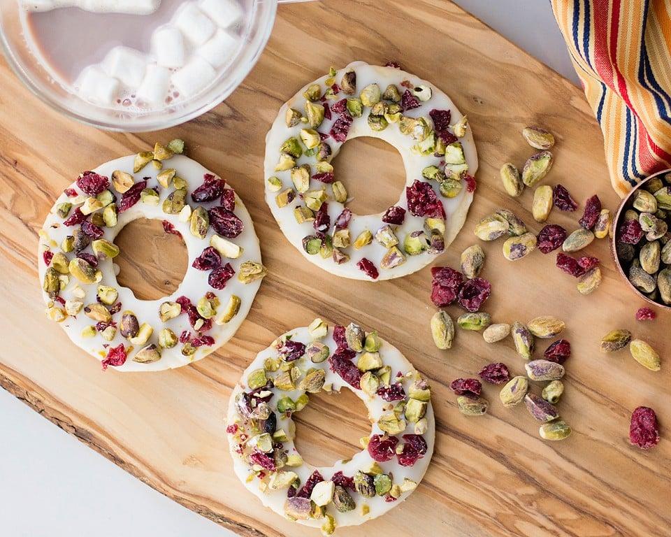 Cranberry Lemon Pistachio Cookies