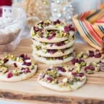 Cranberry Lemon Pistachio Cookies