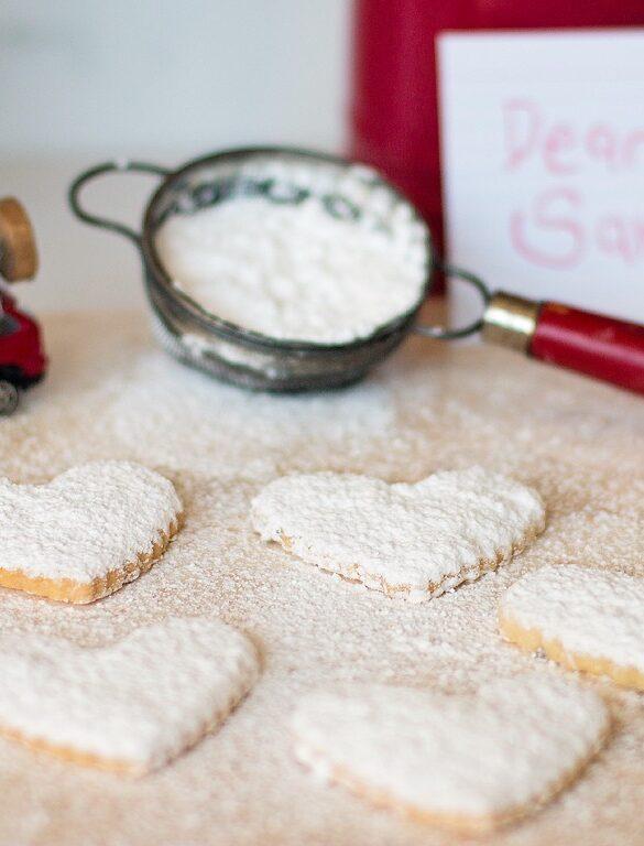 Powdered Shortbread Cookies