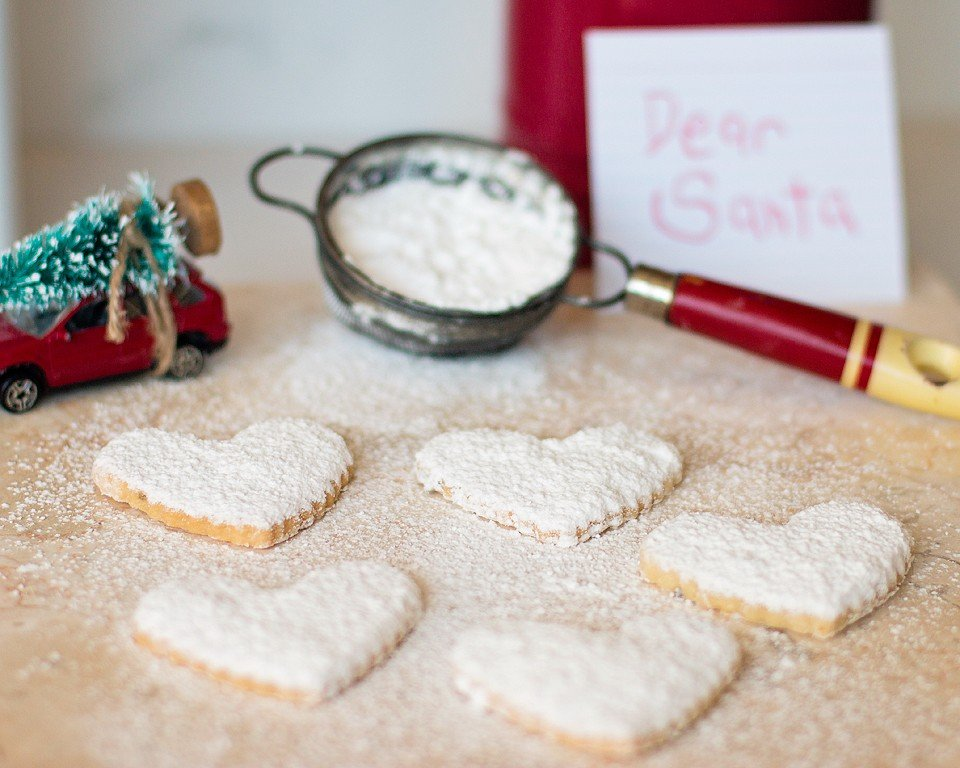 Powdered Shortbread Cookies