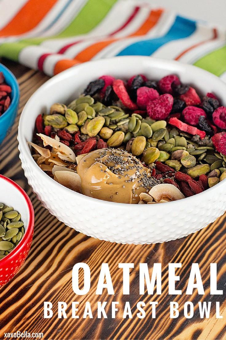 Quaker Oats Oatmeal Breakfast Bowl