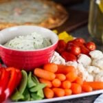 Creamy Avocado and Spinach Dip