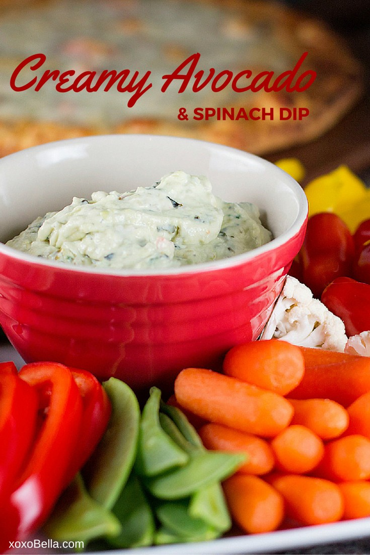 avocado spinach dip pinterest
