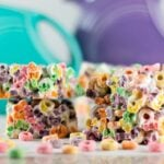 Fruit Loop Marshmallow Bars