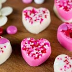 White Chocolate Hearts