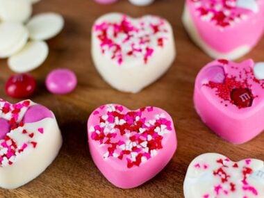 Valentine's Day Heart Bark