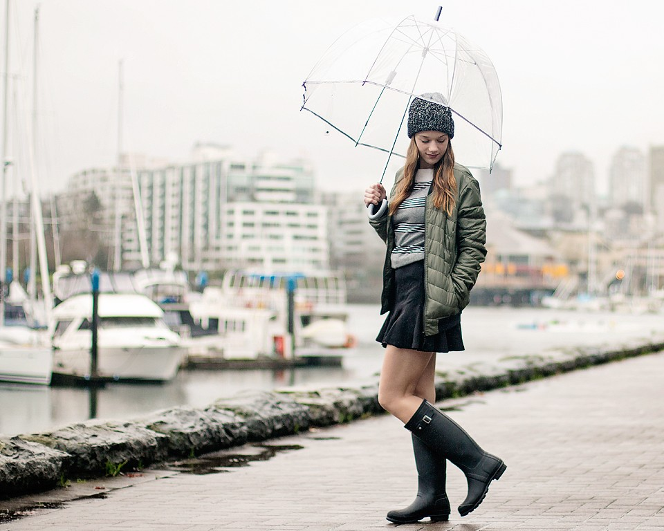 Styling Rain Boots & Wellies