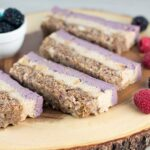 Very Berry Layered Vegan Bars
