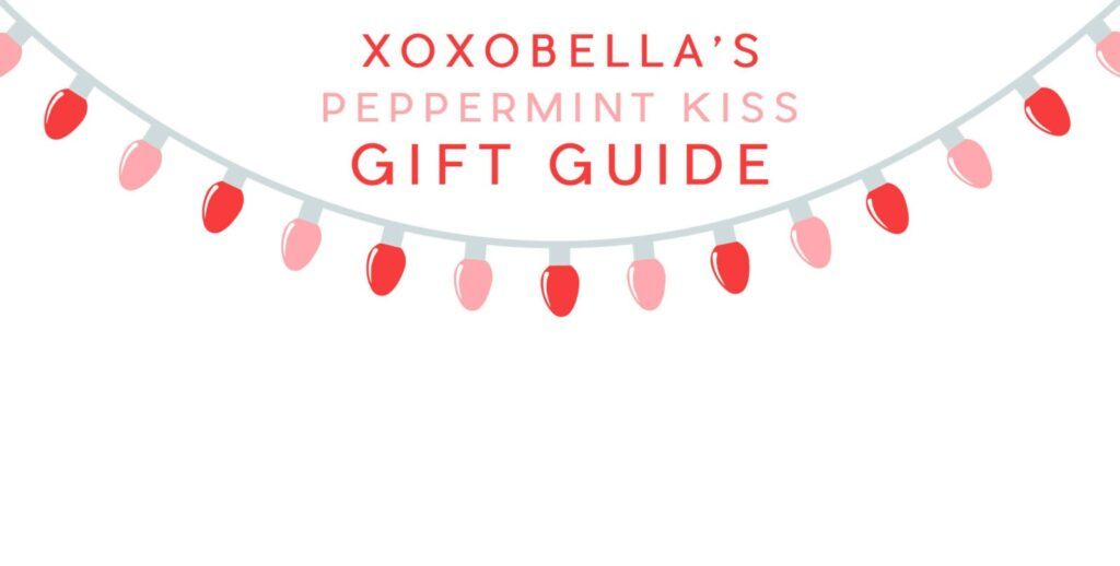 Blogger Bella Bucchiotti of xoxoBella shares a holiday gift guide featuring her favourite red items for your best friend or girls.