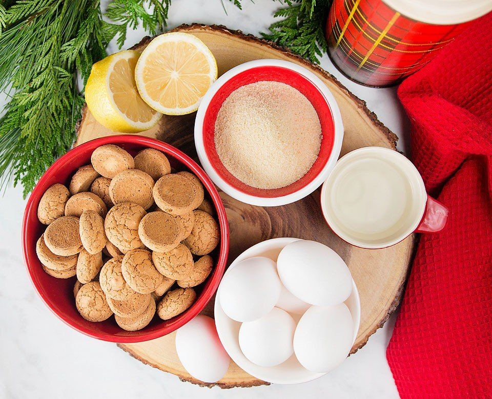 Blogger Bella Bucchiotti of xoxoBella shares a recipe for Lemon Ricotta Amaretti Budino for the Egg Farmers of Canada. #SimpleCheer