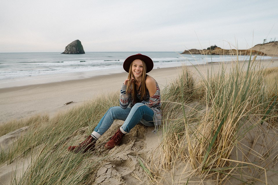 Blogger Bella Bucchiotti of xoxoBella is sharing a road trip to Cape Kiwanda in Oregon. Photos by Braedin Toth