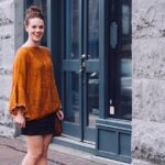 How About this Cozy Orange Sweater?