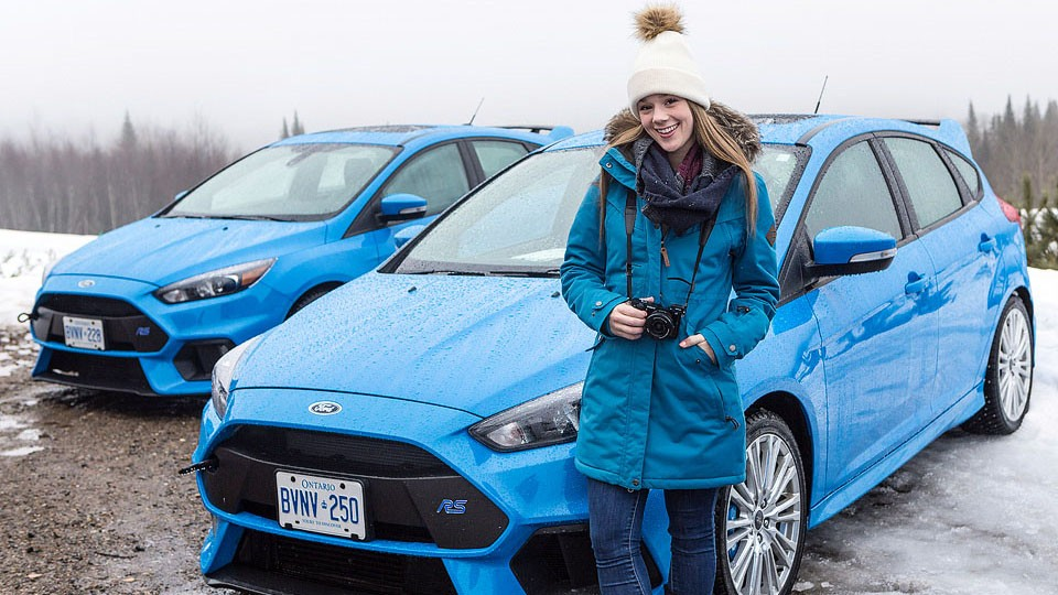 Blogger Bella Bucchiotti of xoxoBella.com shares a winter adventure to Quebec with Ford Canada.