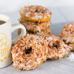 Pumpkin Coconut Vegan Donuts
