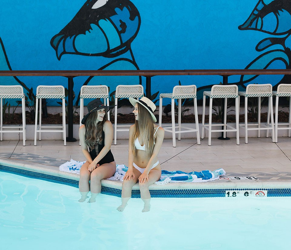 Blogger Bella Bucchiotti of xoxoBella.com shares about her stay at the Blue Sea Beach Hotel in San Diego, California.