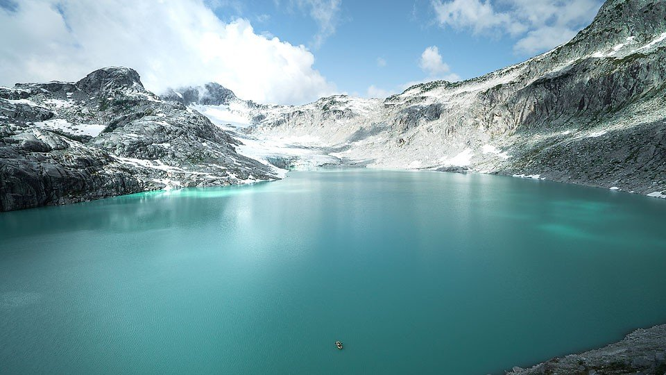 Blogger Bella Bucchiotti of xoxoBella.com shares a glacier kayaking and caving adventure with Compass Helicopter Tours.