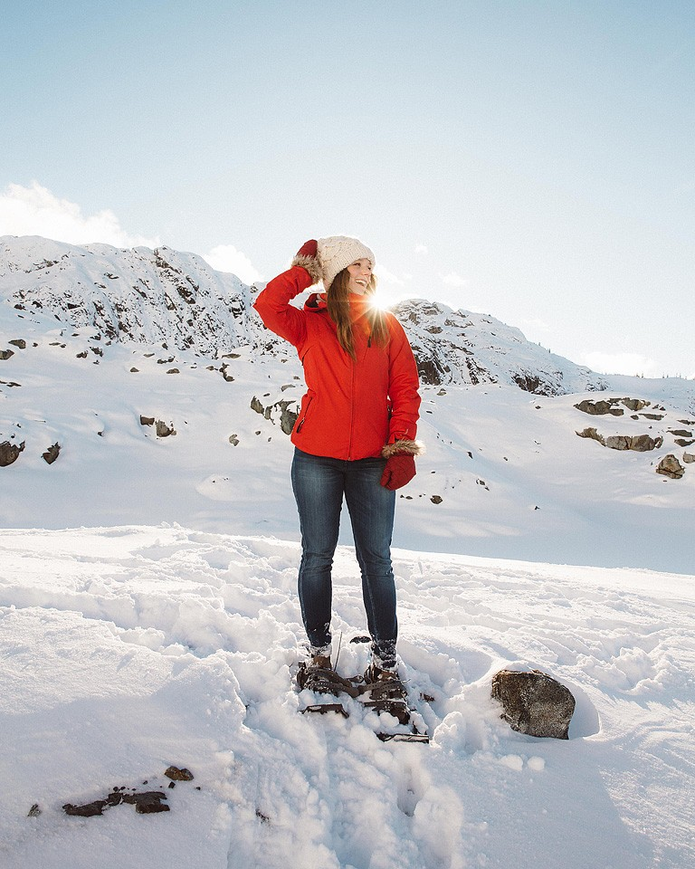 Blogger Bella Bucchiotti of xoxoBella.com shares a ice caving adventure with Compass Helicopter Tours.