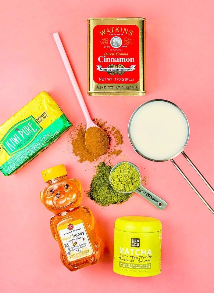 Blogger Bella Bucchiotti of xoxoBella.com shares a recipe for a dairy free green tea matcha latte.