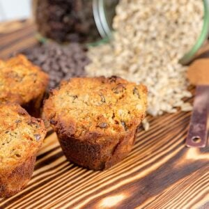 Blogger Bella Bucchiotti of xoxoBella.com shares a recipe for gluten free morning glory breakfast muffins.