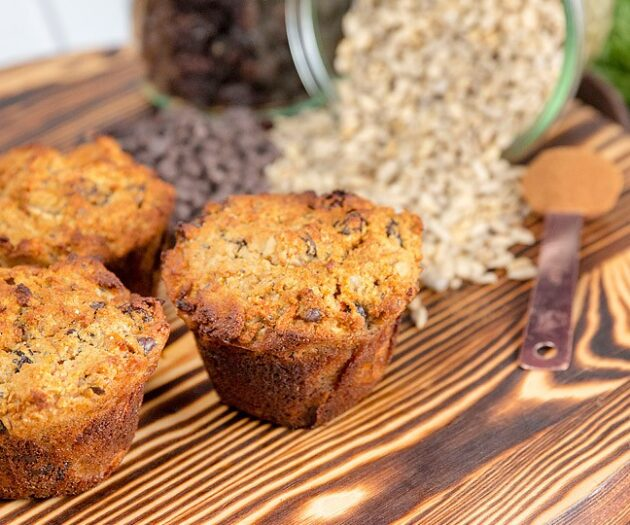 Blogger Bella Bucchiotti of xoxoBella.com shares a recipe for gluten free morning glory breakfast muffins.
