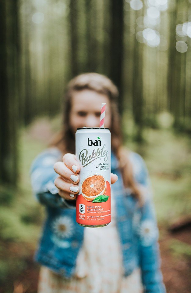 Blogger Bella Bucchiotti of xoxoBella.com shares about how she stays productive working at home. She is fond of Bai Bubbles which she purchases at her local Fred Meyer store.