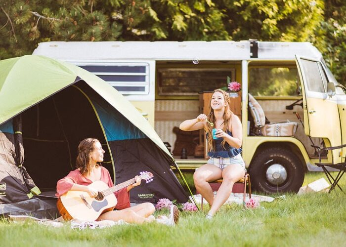 Blogger Bella Bucchiotti of xoxoBella.com shares tips for festival camping featuring her new Coleman tent. It's the best way to take on festival season!