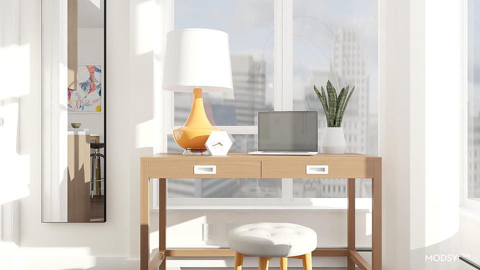 Blogger Bella Bucchiotti of xoxoBella.com shares her experience using Modsy 3D design on her tiny condo.