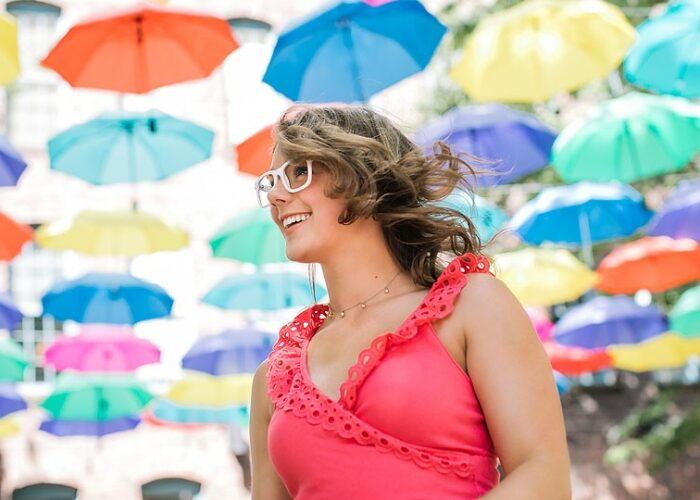 Blogger Bella Bucchiotti of xoxoBella.com shares how she see's clearly with her Zenni glasses.