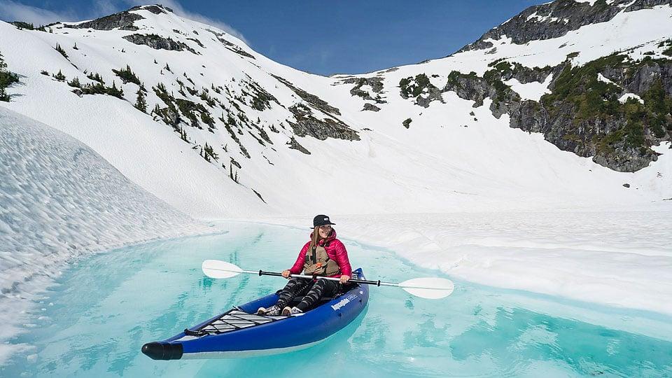 Blogger Bella Bucchiotti of xoxoBella.com shares her spring glacier kayaking.