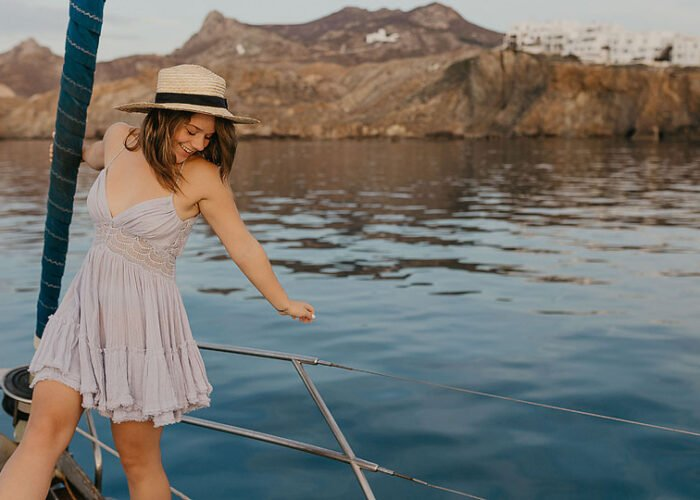 Blogger Bella Bucchiotti of xoxoBella.com shares about her trip to Greece and the island of Naxos. She shares where she stayed, visited and ate.