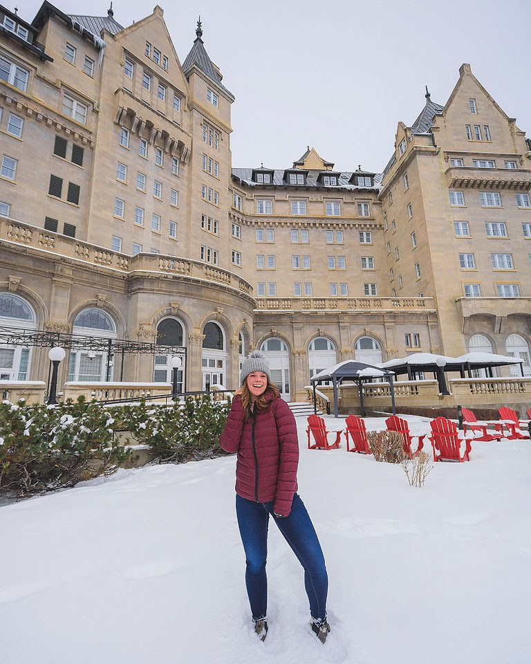 Travel blogger, Bella Bucchiotti of xoxoBella shares about her trip to Alberta with stops in Edmonton and Jasper in the winter.