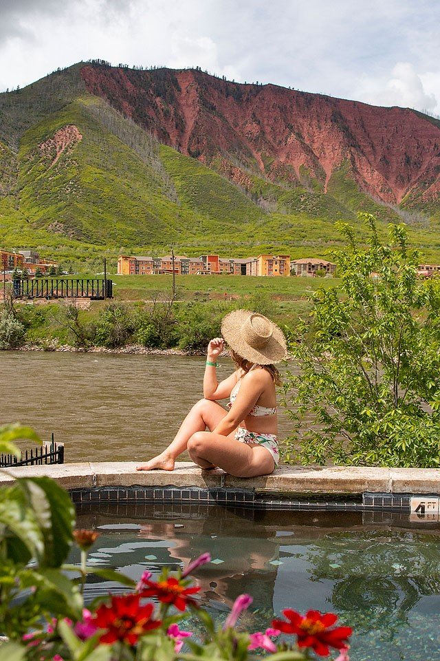 Blogger Bella Bucchiotti of xoxoBella.com shares about her Colorado road trip to see the Rocky Mountains, many hot springs, resorts and more.