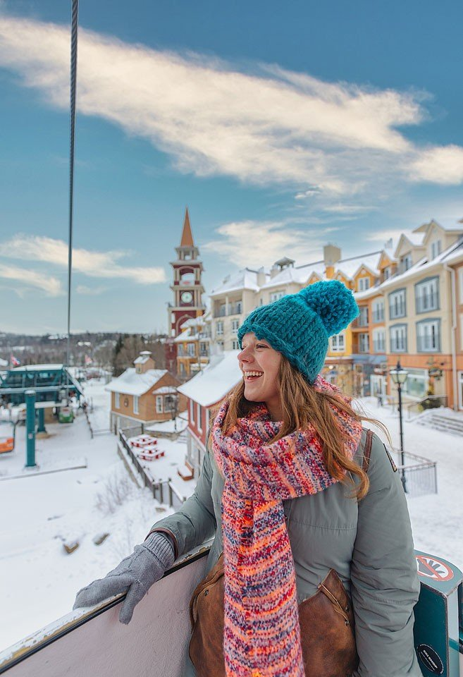 Blogger Bella Bucchiotti of xoxoBella.com shares her trip to Mont Tremblant in Quebec. A Quebec winter trip to Mt. Tremblant.