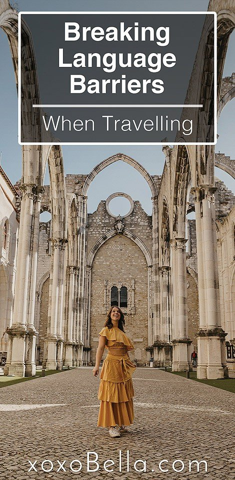 Blogger Bella Bucchiotti of xoxoBella.com shares tips for overcoming language barriers when traveling.