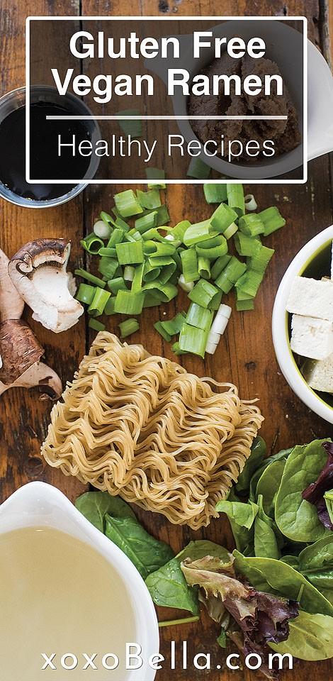 Blogger Bella Bucchiotti of xoxoBella.com shares a recipe for yummy gluten free vegan ramen.
