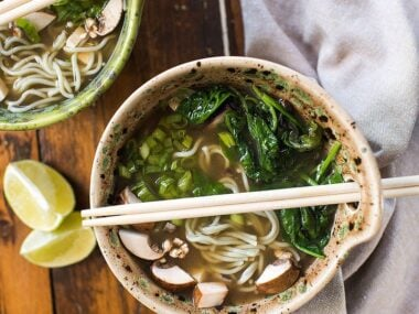 Blogger Bella Bucchiotti of xoxoBella.com shares a recipe for yummy gluten free vegan ramen.