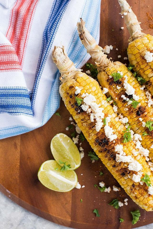 Blogger Bella Bucchiotti of xoxoBella.com shares a recipe for Mexican street style corn. You will love this corn recipe for the BBQ.