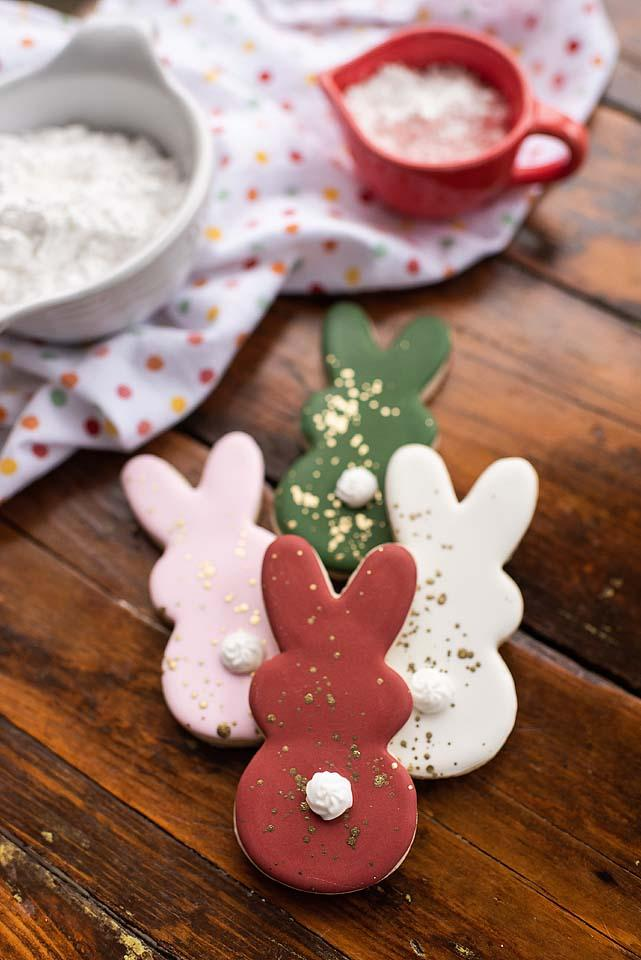 Food blogger, Bella Bucchiotti of xoxoBella, shares a recipe for gluten free sugar cookies. These cute Easter bunny cookies are so easy to make.