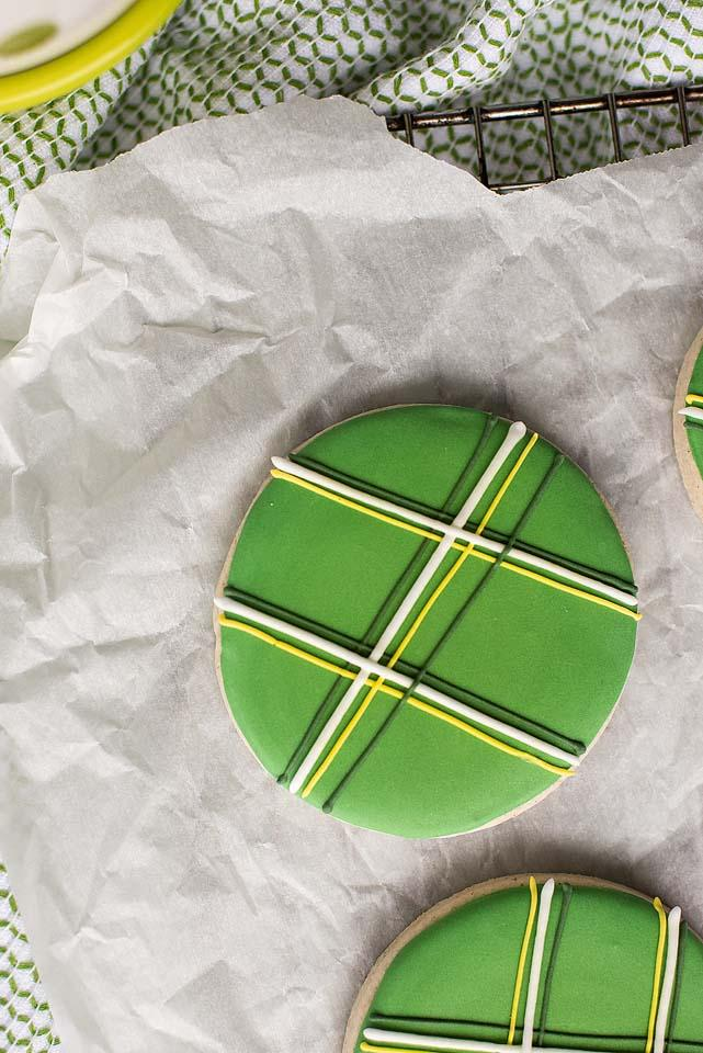 Food blogger, Bella Bucchiotti of xoxoBella, shares a recipe for gluten free sugar cookies for St, Patrick's Day. If you're looking for  Saint cookies for Saint Patrick's Day, this is it!