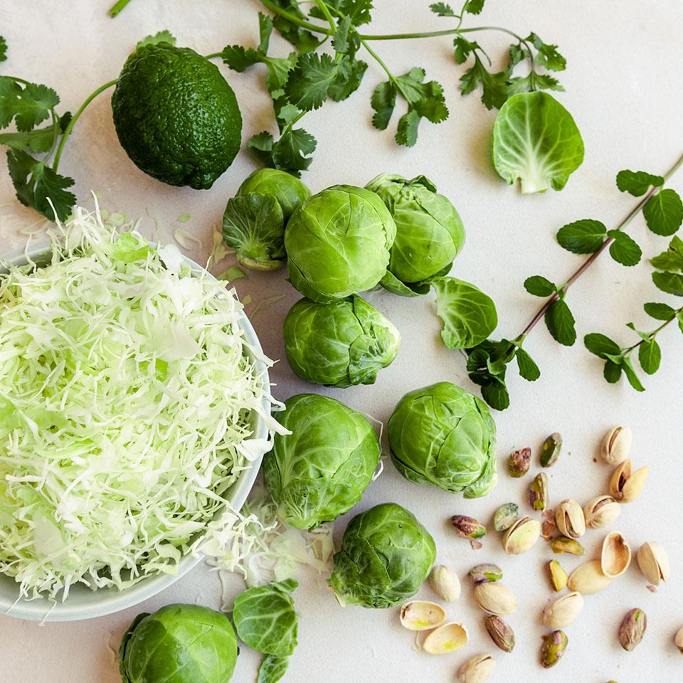 Food blogger, Bella Bucchiotti of xoxoBella, shares a Brussel sprout slaw with lemon apple cider vinaigrette. You will love this shaved Brussel sprouts salad recipe.