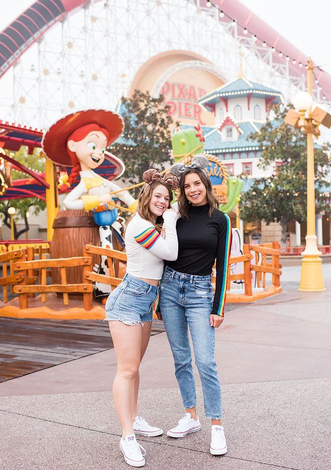 Lifestyle blogger, Bella Bucchiotti of xoxoBella, shares caption ideas for Disney World and Disneyland.