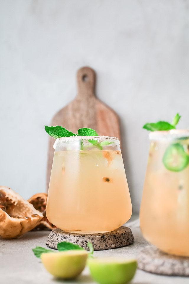 Food blogger, Bella Bucchiotti of xoxoBella, shares a passion fruit lime margarita recipe. You will love this easy margarita recipe.