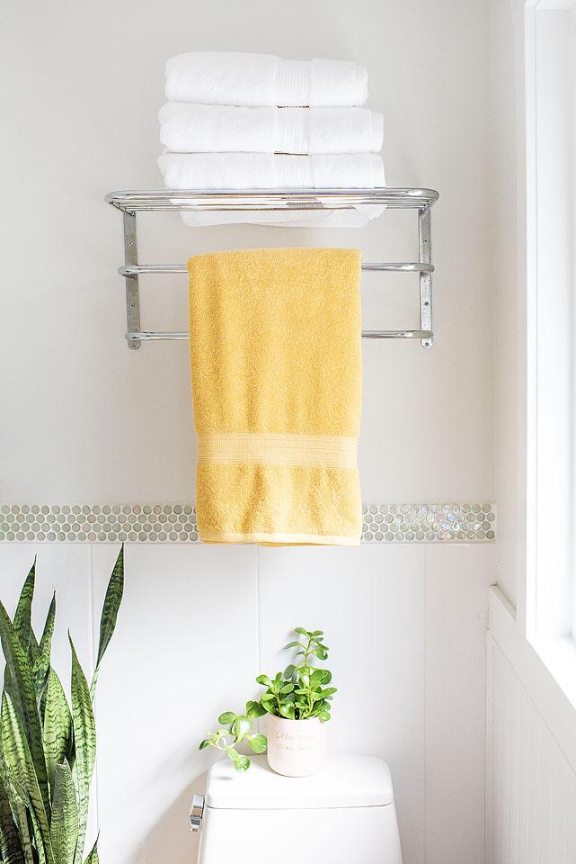 Lifestyle blogger, Bella Bucchiotti of xoxoBella, shares ideas for a bathroom refresh without a bathroom renovation. Lots of ideas for easy upgrades for your bathroom.