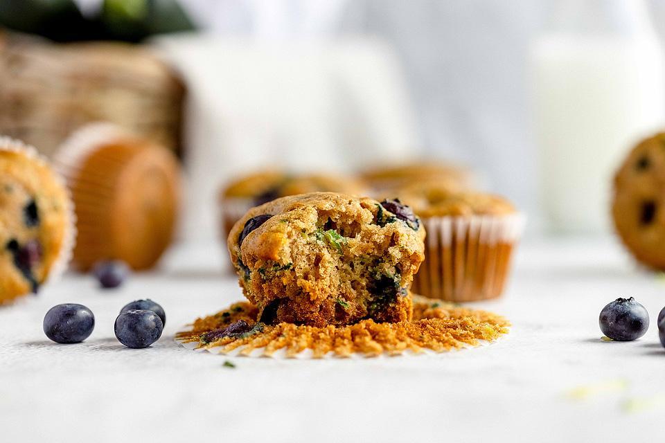 Food blogger, Bella Bucchiotti of xoxoBella, shares a recipe for tasty blueberry zucchini muffins. You will love this zucchini muffin recipe.
